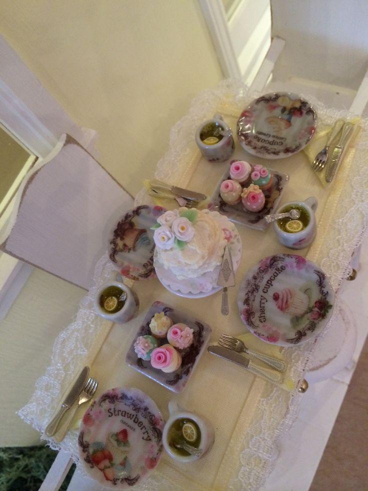 Mesa de té y dulces
