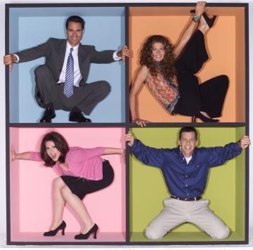 Karen Walker Will and Grace   ... - NEWS 2003_09_29 - John Cleese to Grace 'Will & Grace' This Season