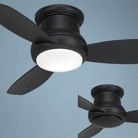 44 best ceiling fans images on pinterest blankets ceilings and 44 minka concept ii hugger matte black ceiling fan mozeypictures Choice Image