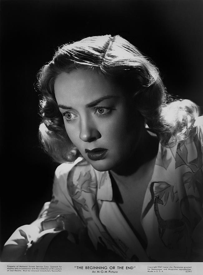 Audrey Totter The Beginning Or The End 1947 Hollywood Crime Film Noir American Actress
