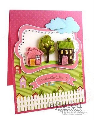 Love this card- Adorable! #Taylored Expressions, #Taylor Van Bruggen, #KI Memories,
