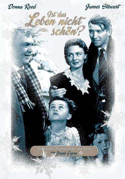 Ist das Leben nicht schön.USA 1946 erzählt die Geschichte des sozial engagierten Bürgers George Bailey, der in der Weihnachtsnacht wegen eines Missgeschicks seinen Lebensmut verliert und sich von einer Brücke stürzen will bis er von einem Engel gerettet wird und ihm gezeigt wird, wie seine Heimatstadt aussehen würde, wenn er nie geboren wäre. Trotz kommerziellen Misserfolgs wurde der Film mit der Zeit zum Klassiker.