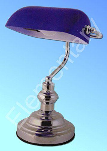 290 kr. Lloytron Blue Bankers Lamp LLOYTRON http://www.amazon.co.uk/dp/B00VEADHQO/ref=cm_sw_r_pi_dp_2jY3wb0XEB7FA