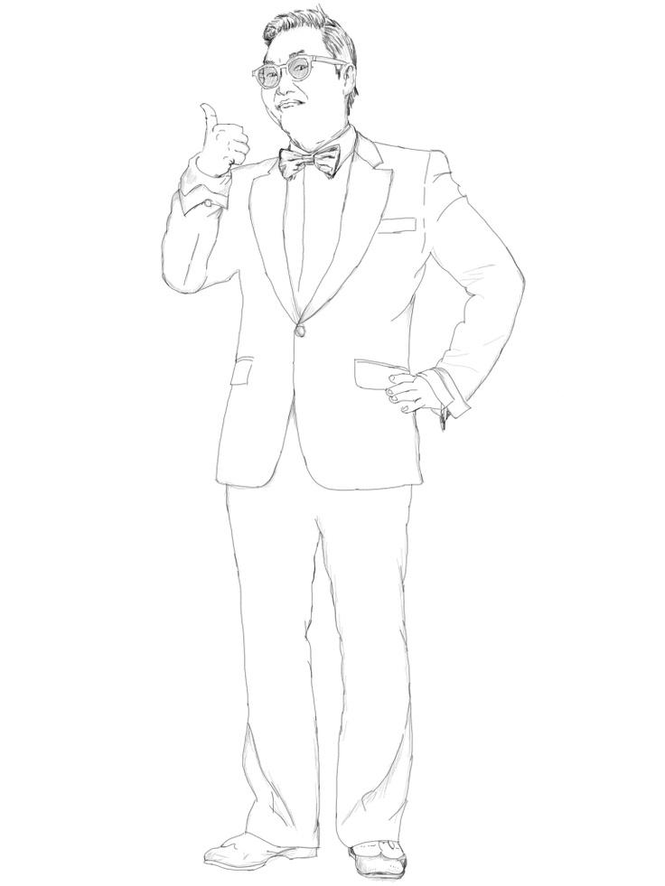 Psy, Gangnam Style Guy