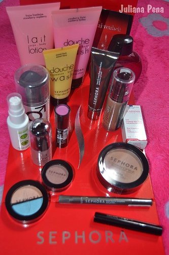 my new products from Sephora.
