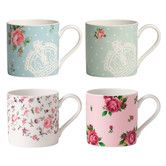 Found it at Wayfair - New Country Roses Modern Mugs