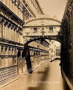 Le Pont des Soupirs Photo 1870 par Nay Carlo