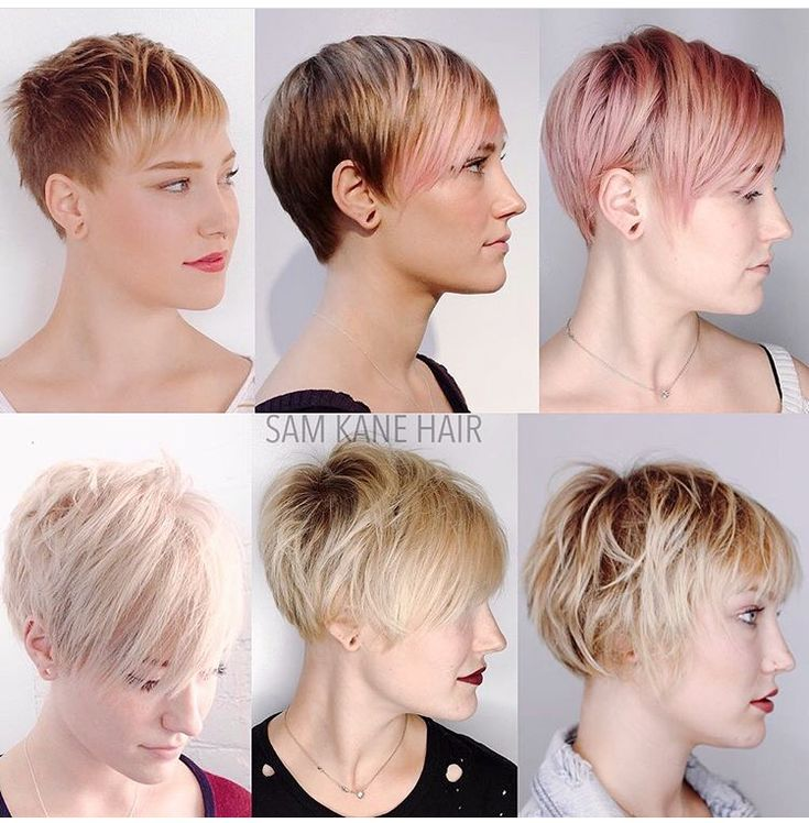 Growing out a short pixie cut @samkanehair                                                                                                                                                                                 More
