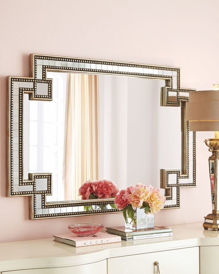 gorgeous mosaic mirror apart of the john richard collection on shopstyle - Design Wall Mirrors
