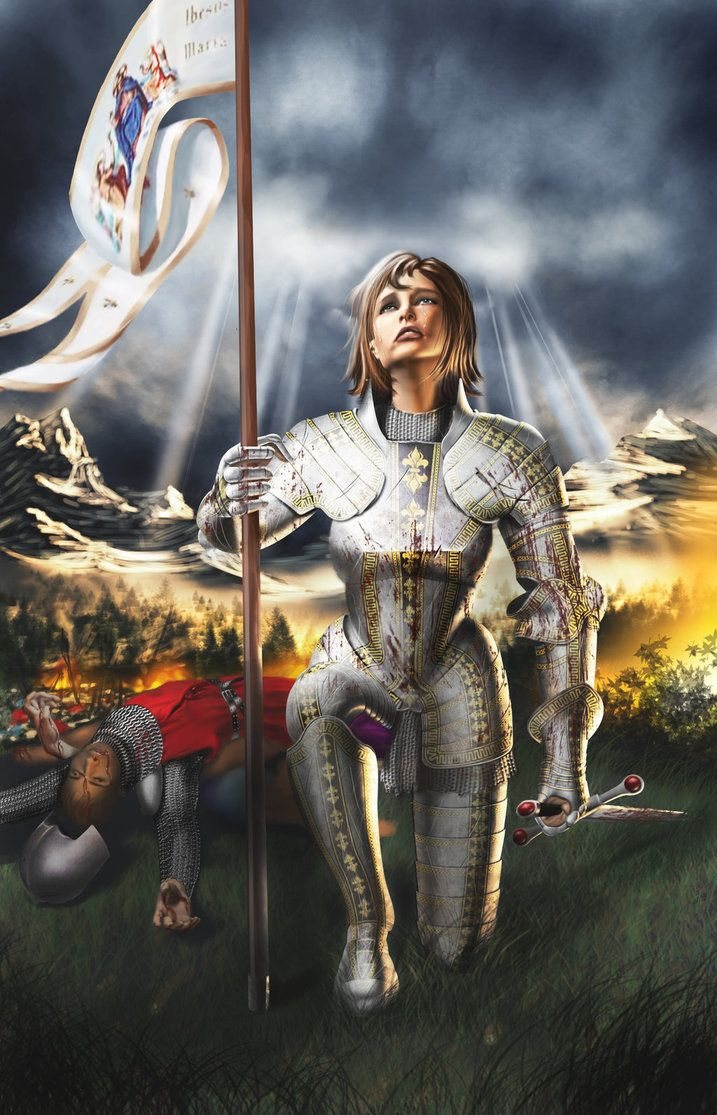 Joan of Arc | Hundred Years War Art in 2019 | Joan of arc ...