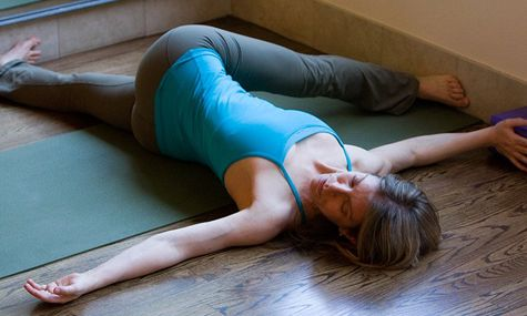 All-In-One Yoga Pose: Leg Stretch #3