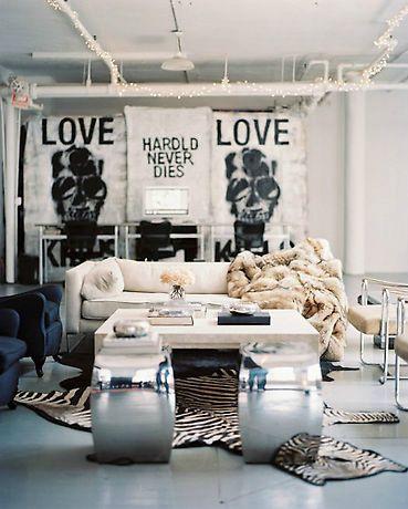 17 best images about edgy glam interior design on for Edgy living room ideas