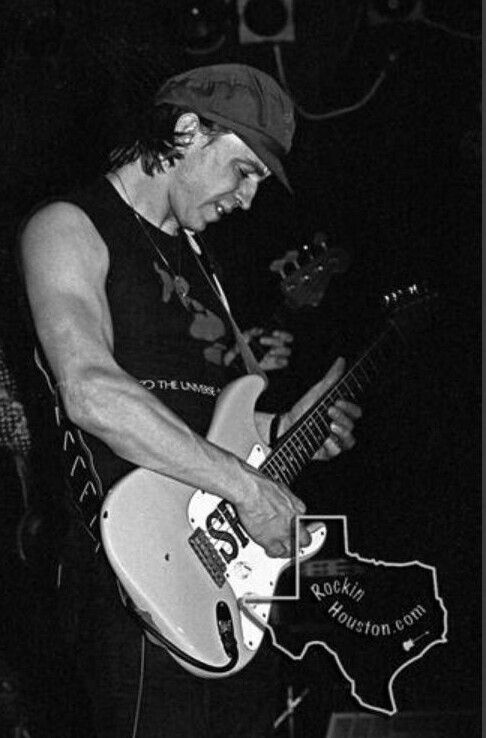 Stevie Ray Vaughan at Fitzgerald's March 25,1983.