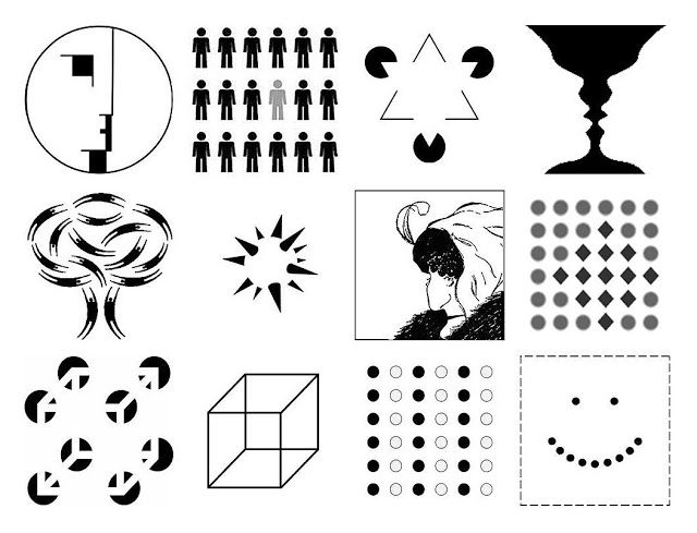 Gestalt Theory and Composition in Art: The Principles of Gestalt Theory. See if you can name the principle of gestalt theory that applies to each image.