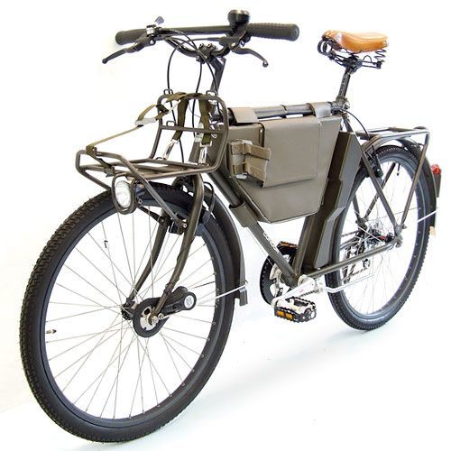Swiss Army Bike.  Can also be used to cook food, cut wood, tell time, light cigars, play cards and call your mother for her birthday.
