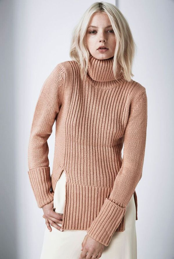 Finders Keepers - Tomorrow Knit - Peach