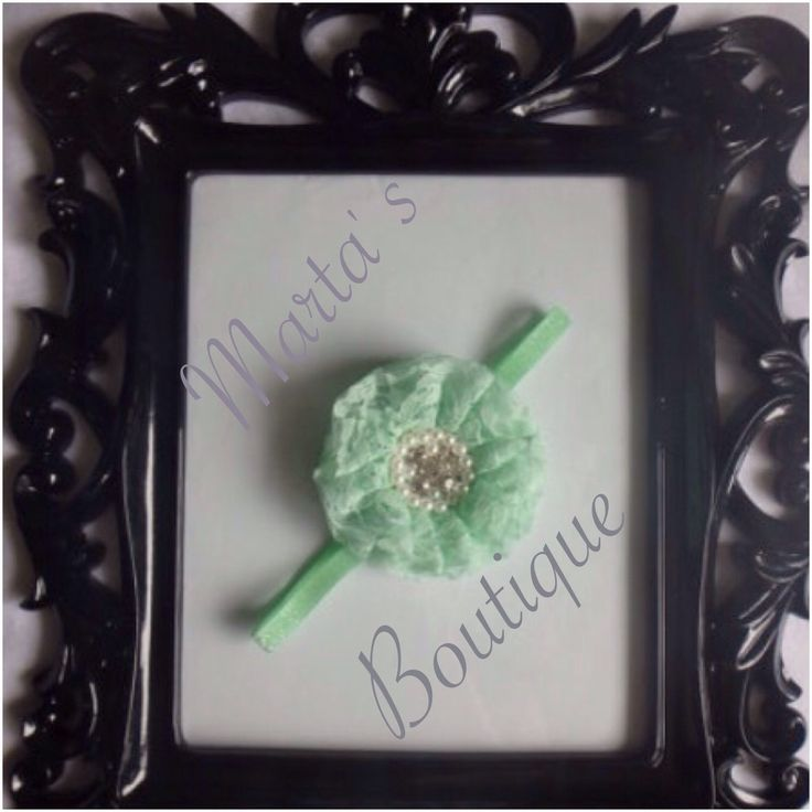 A personal favorite from my Etsy shop https://www.etsy.com/listing/228688449/mint-sparkle-lace-collection