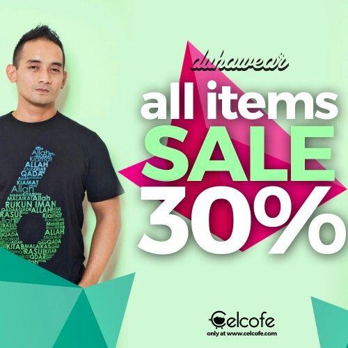 Belanja yuks di Mall Onlinenya Para Celebrity ada SALE 30%  kilik ajah : celcofe.com/artist/rizky-mocil/