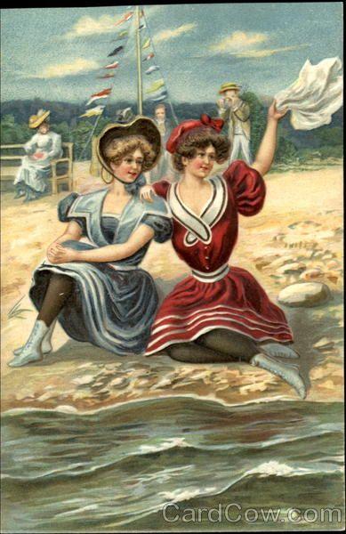 Vintage postcard.