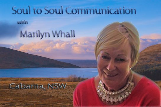 Next Sydney Event September the 25th. www.marilynwhall.com.au for tickets.