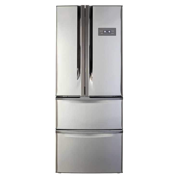 American Fridge Freezer With Drawers Part - 17: CDA American Style Two Door Fridge/Two Drawer Freezer Stainless Steel