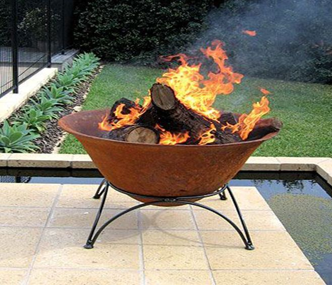 1000 images about fire pits and outdoor burners on for Alcohol fire pit