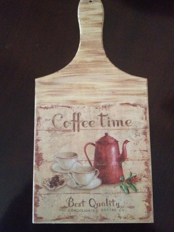 Handmade cutting board vintage style great for holidays by Armenos