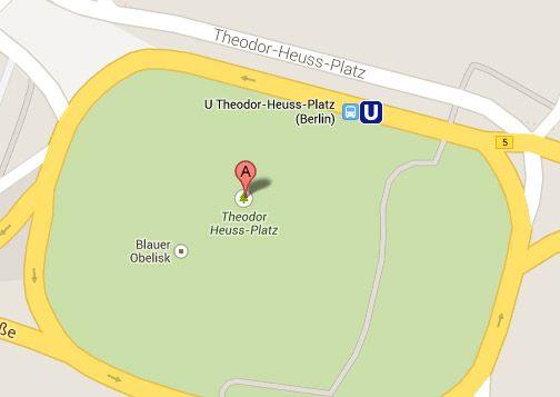 Wie der Theodor-Heuss-Platz auf Google Maps zum Adolf-Hitler-Platz werden konnte
