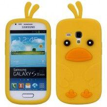 Forro Galaxy S3 mini - Pajaro amarillo  Bs.F. 41,97