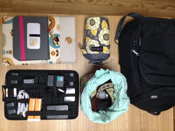 packing list for japan in summer - Electronics packed for Japan in summer