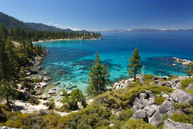 Lake Tahoe, California/Nevada   29 Surreal Places In America You Need To Visit Before You Die
