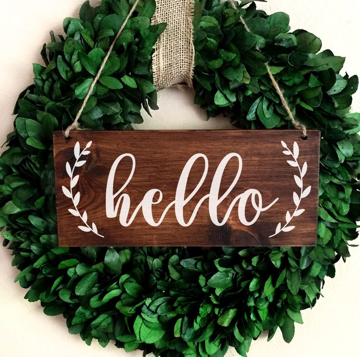 welcome signs diy - 735×728