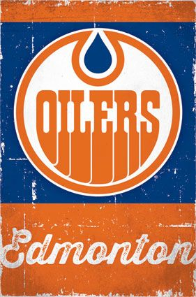 Edmonton Oilers Retro Logo 2013 | NHL | Sports | Hardboards | Wall Decor | Pictures Frames and More | Winnipeg | Manitoba | MB | Canada