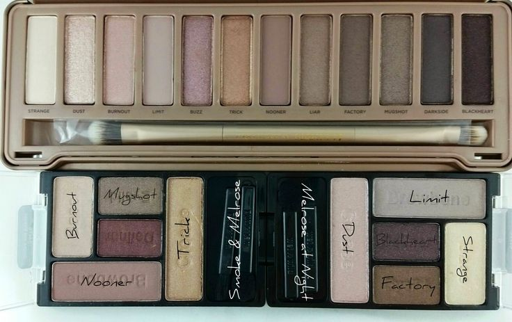 The Budget Beauty Blog: New Wet N' Wild Melrose Palettes are a Naked 3 Dupe!