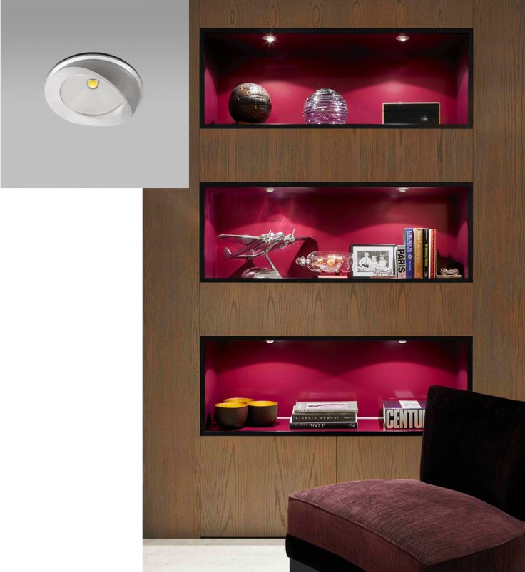 The eyelid undercupboard light this slim cabinet light has a small eyelid which skilfully shields