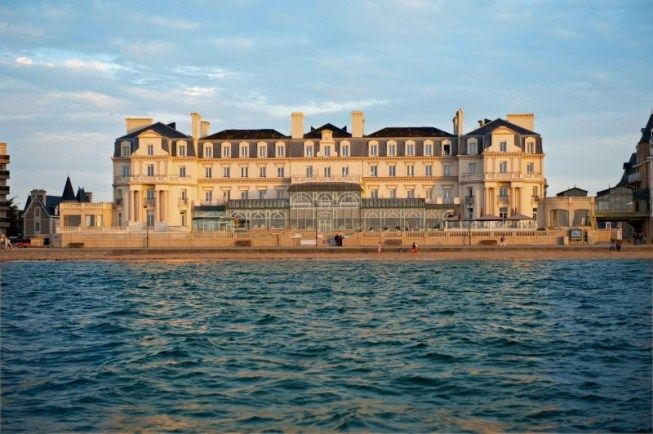 Brittany Le Grand Hotel Des Thermes Summer Travel France