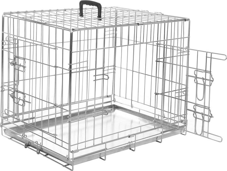 Flamingo Metal Cage With 2a Doors 109a X 70a X 30a Cm For More Information Visit Image Link This Is An Affiliate Link Dog Crate Crates 30a