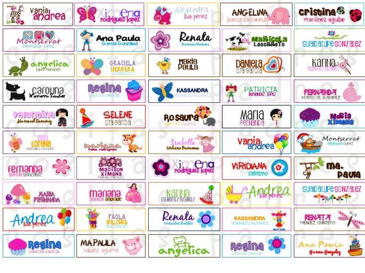 Etiquetas Para Utiles Escolares Clas1 Bsf 5000 En Mercadolibre ...