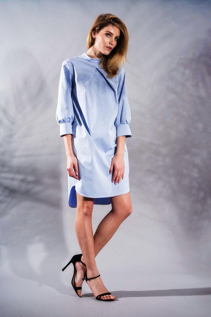 Serenity Poplin Dress www.framboise.ro