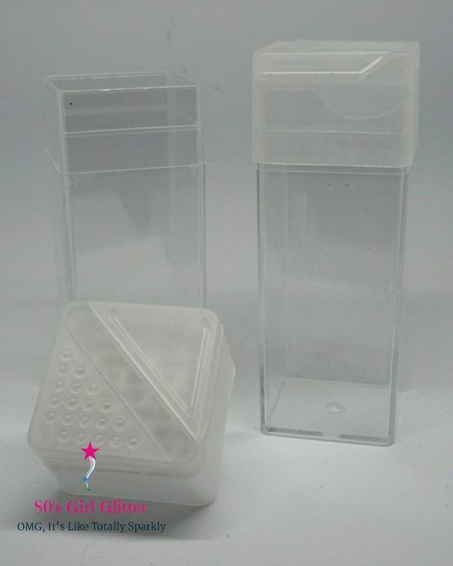 Need Glitter Storage These Recollections Style Square Glitter
