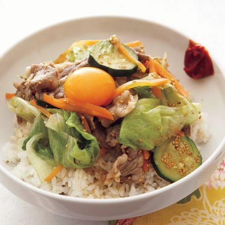 レタスのビビンバ   コウケンテツさんのごはんの料理レシピ   プロの簡単料理レシピはレタスクラブネット
