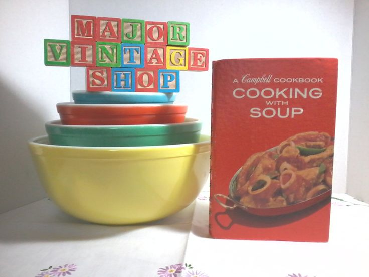 """A Campbell Cookbook """"Cooking With Soup"""" first Canadian printing 1973 by MajorVintageShop on Etsy"""