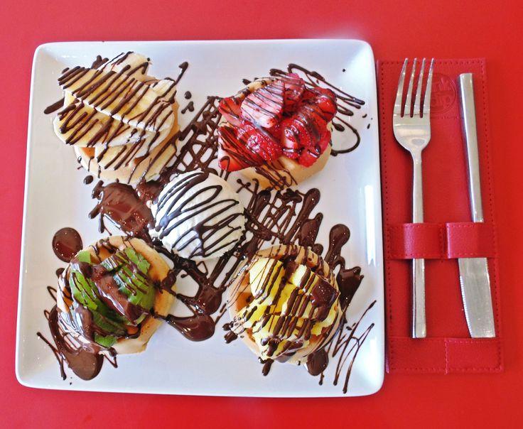 Dunk'n Dip Waffle