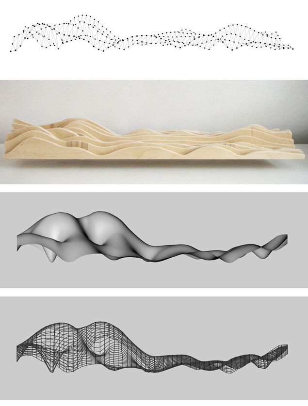 Brainwave Sofa: It's intriguing how all photos are obviously based on the same shape but have so many different design principles.