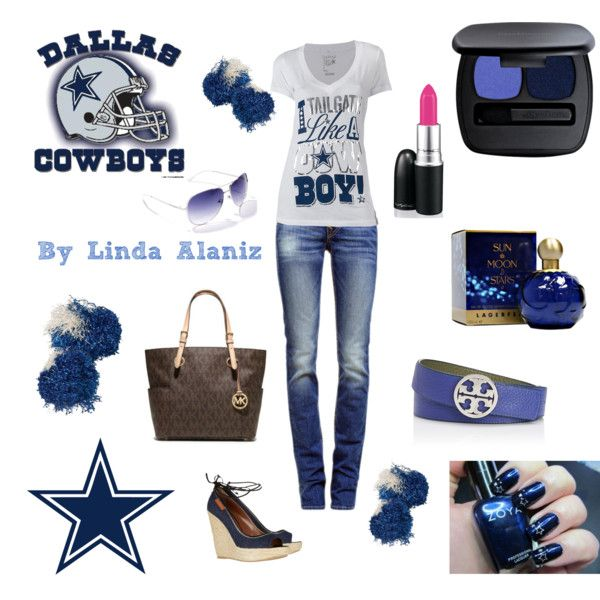 navy blue wedding shoes low heel   34 Dallas Cowboys Outfits  34  by linda alaniz on Polyvore