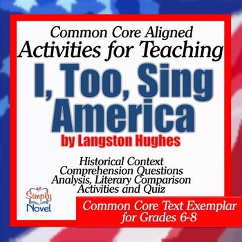i too sing america essay Free college essay i too sing america kishia jones 12104 the voice of one person can send a profound sound into the hearts of people to help.
