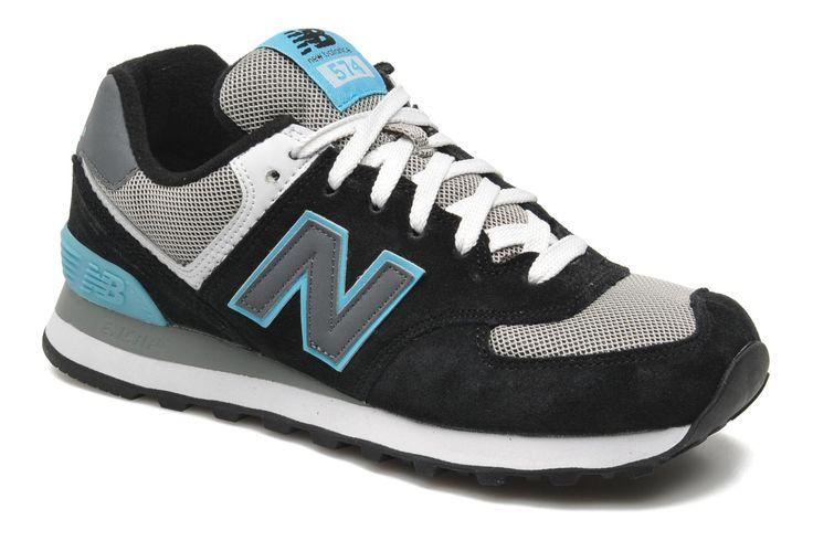 WL574 New Balance (Noir) : livraison gratuite de vos Baskets WL574 New Balance chez Sarenza
