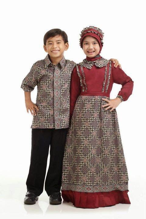 Model Baju Muslim Untuk Anak Couple Putra - Putri