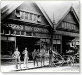 First Hbc Vancouver store on Cordova St,