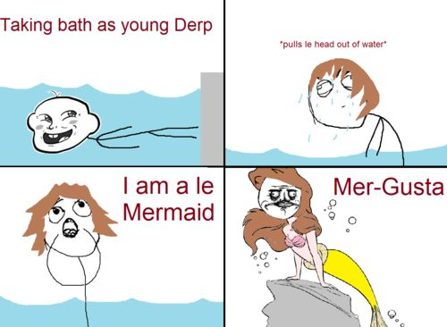 I am a le mermaid funny memes meme funny quote funny quotes mermaid humor le humor quotes funny pictures derp best memes popular memes